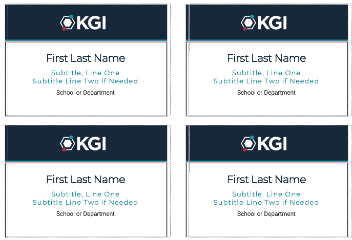 create your own name badges for avery templates 5395 or 74461 download here these templates are available for faculty and staff